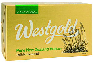 ウエストランド NZ産 グラスフェッドバター 無塩バター 250g ×2個セット