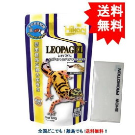 ひかり レオパゲル (60g) × 1個 + SHOW抗菌マスクケース 1個 【送料無料】