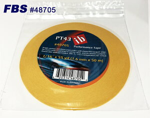 FBSカスタムテープ PT43テープ 48705 1.6mm PT43 TAPE 塗装 塗料 ペイント 塗装用品 TAPE テープ マスキングテープ 車 バイク 建築 カラー デザイン アート カスタムカラー