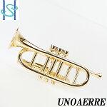 【SH54657】ウノアエレUNOAERREピンブローチK18イエローゴールド楽器トランペット【中古】