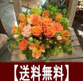 【スーパーSALE】【スーパーセール】バラのアレンジ!選べる4色♪【フラワーギフト】【お誕生日】【お見舞い】【楽屋花】【お祝い】【花屋】02P23Apr16