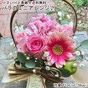 Happy あす楽 送料無料 小さいけど素敵!バラのミニアレンジ 花 誕生日 プレゼント 女性 女友達 母 祖母 お祝い フラ…