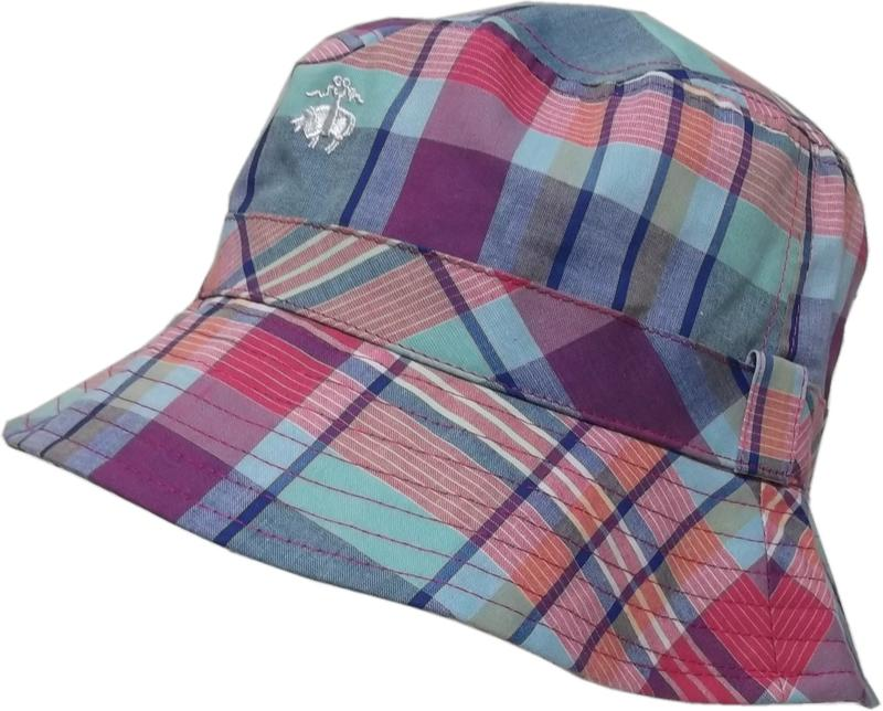ブルックスブラザーズ マドラスチェック ハット 帽子 レッド系 Brooks Brothers HAT 068