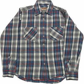 カムコ ヘビーコットン ネルシャツ ブルー CAMCO COTTON FLANNEL SHIRTS 023