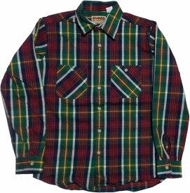 カムコ ヘビーコットン ネルシャツ グリーン CAMCO COTTON FLANNEL SHIRTS 015