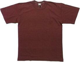 エントリーエスジー ティファナ バーガンディ 半袖 ポケット付き Tシャツ ENTRY SG TIJUANA BURGANDY 087