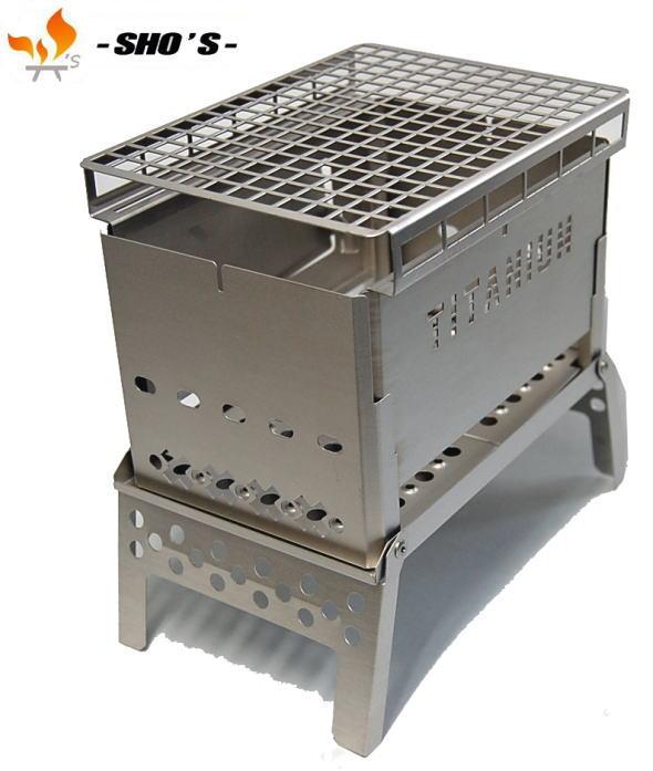【 笑's 】Mr.B-6 All Titanium Grill plate set2オールチタン●送料無料●