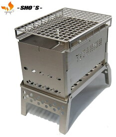 【 笑's 】Mr.B-6 All Titanium Grill plate set2オールチタン●送料無料●