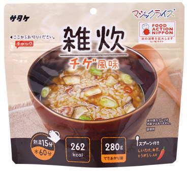 【株式会社 サタケ】 マジックライス 雑炊シリーズ「チゲ風味」