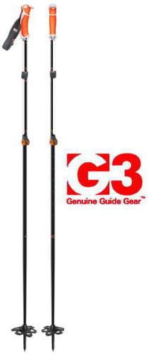 【 G3 】VIA CARBON(スキーポール)●送料無料●