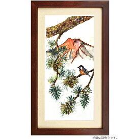 ビーズキット ビーズデコール パート18 松・ヤマガラ(1月)|ビーズキット ビーズデコール 四季折々 1月 花 鳥 日本風景 MIYUKI