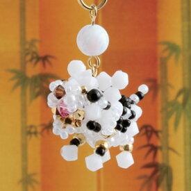 ビーズキット 京都・西陣ホビックスキット 神の使い 白虎 【メール便可】|ビーズ|キット|ホビックス|
