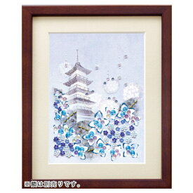 ビーズキット 実用小物・インテリアキット ビーズデコール 日本の四季 あじさい BHD66 【メール便可】|ビーズ|キット|手作り|インテリア|日本の四季|デコール|MIYUKI|