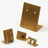 ビーズディスプレイ用品BRASSプレートピアスホルダーL【メール便可】|ビーズ|ディスプレイ|収納|用具|スタンド|アクセサリー|ピアス|お洒落|ゴールド|