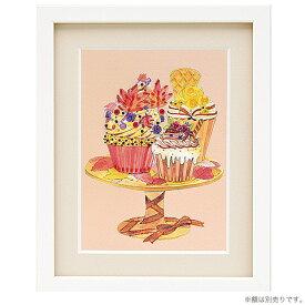 ビーズ キット ビーズデコール パート17 秋のカップケーキ BHD-115 【メール便可】|ビーズキット|簡単|初心者|季節物|イベント|スイーツ|絵|MIYUKI|ミユキ|