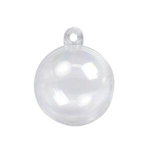 固まるハーバリウム ハードニング 3D シリコンゲル 専用カプセル 球体 4cm HBR-326 エルベール   シリコンゲル ハードタイプ 専用 透明 型 球 カプセル型