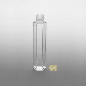 ガラスボトル SSF-200A フタツキ・ロッカク 214ml | ハーバリウム 手作り 花材 ガラス ボトル 容器 瓶 材料 ビン 手芸 手芸材料 ハンドメイド おしゃれ