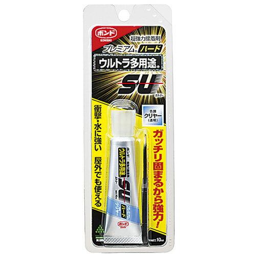 クラフト お役立ち用品 接着剤 ボンド ウルトラ多用途S・Uプレミアム ハード クリヤー 10ml