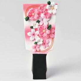 ひな祭り キット つまみ細工 桜の羽子板 LH-162   パナミ Panami ひなまつり ひな祭り 手芸キット 手作りキット つまみ さくら 羽子板 桜 サクラ ピンク