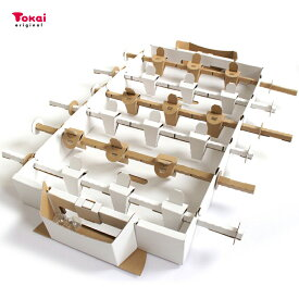 テーブルサッカー 工作キット|手作りキット 段ボール トーカイ