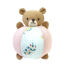 me-in beby くまさんボ-ルのにぎにぎキット MAIM-240   マーイン ベビーキット どうぶつ ニギニギ ボール 清原 日本製 出産祝い 誕生祝い ギフト プレゼント