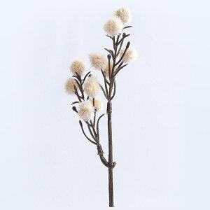 フェイクドライフラワー ポロン オフホワイト   ドライ ハーバリウム 手作り ドライフラワー 花材 材料 手芸 フェイクフラワー 造花 手芸 ハンドメイド ブーケ 花 おしゃれ シルクフラワー