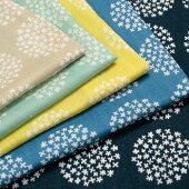 生地ガーゼ/北欧調/フラワーサークルダブルガーゼ148-1755【メール便可】|1m単位|花柄|布地|ソーイング|裁縫|手芸|手作り|手づくり|ハンドメイド|藤久|シュゲール|トーカイ|通販|