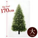 \p20倍/ツリータペストリー ビッグサイズ ウッド柄パネル オックス カットクロス|クリスマス ツリー クリスマスツ…