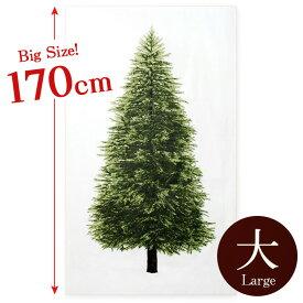 \p20倍/ツリータペストリー ビッグサイズ ウッド柄パネル オックス カットクロス|クリスマス ツリー クリスマスツリー タペストリー 北欧 北欧風 北欧調 シンプル 壁紙 おしゃれ 生地 布 布地 ファブリック トーカイ