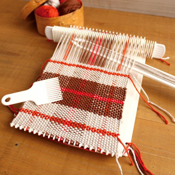 編み物 手織り機 ダルマ「絵織亜」 絵織亜ポータブル