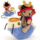 編み物 オリムパスキット くまと鯉のぼりの端午の節句あみぐるみ