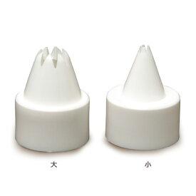 ねんど 粘土用具 タミヤデコレーションシリーズ しぼり口 大小セット(ホイップの達人用)