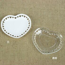 ねんど 粘土用具 タミヤデコレーションシリーズ ミニチュア食器(ハートのお皿 70ミリ) 【メール便可】