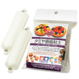 ねんど 粘土用具 タミヤデコレーションシリーズ タミヤ樹脂粘土 フルーツ作りの達人(100g)