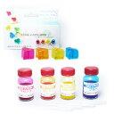 NRクリアカラー 4色セット|クリスタルレジン|エポキシ樹脂|ポリウレタン樹脂|着色...