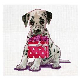 刺繍 輸入キット Thea GOUVERNEUR テア Puppy went shopping 犬のお買い物【メール便可】クロスステッチ キット