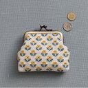 刺繍 キット COSMO(ルシアン) 地刺しキット がまぐち 黄色い野の花 【メール便可】