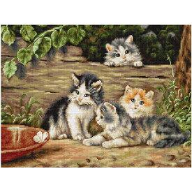 刺繍 輸入キット Luca-S(ルーカス) B556 The Cats 【メール便可】