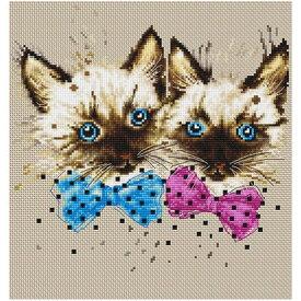 刺繍 輸入キット Luca-S(ルーカス) B2298 The Cats 【メール便可】