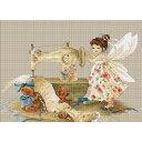 刺繍 輸入キット Luca-S(ルーカス) B1116 Needlework Fairy 【メール便可】