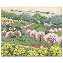 刺繍 キット オリムパス オノエ・メグミ 木々の彩り 田園の春 | 刺繍キット 刺しゅう ししゅう 手作りキット 手芸キッ…