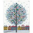 刺繍 キット オリムパス オノエ・メグミ 木々の彩り ウインターイルミネーション 【メール便可】