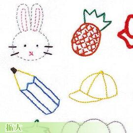 刺繍刺しゅうキットオリムパスフランス刺しゅう基本ステッチキット基本縫ししゅうステップ1