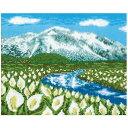 刺繍 刺しゅうキット オリムパス 四季を彩る日本の名所 夏の尾瀬