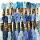 刺繍刺しゅう糸Anchor25番ブルー系【メール便可】アンカー|糸|刺繍糸