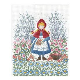 刺繍 夢見る童話の世界 赤ずきんちゃん|7520 オリムパス オノエ・メグミ クロスステッチ キット