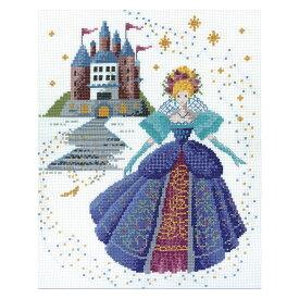 刺繍 夢見る童話の世界 シンデレラ|7521 オリムパス オノエ・メグミ クロスステッチ キット