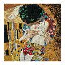 刺繍 DMC Klimt THE KISS|BK1811 クロスステッチキット グスタフ クリムト キラキラ エトワール刺繍糸使用