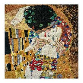刺繍 DMC Klimt THE KISS 接吻 BK1811 |クロスステッチキット グスタフ クリムト キラキラ エトワール刺繍糸使用