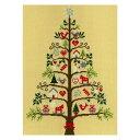 刺繍 Bothy Threads(ボシースレッズ) Scandi Tree (北欧のクリスマスツリー) XX9|輸入 クロスステッチ キット
